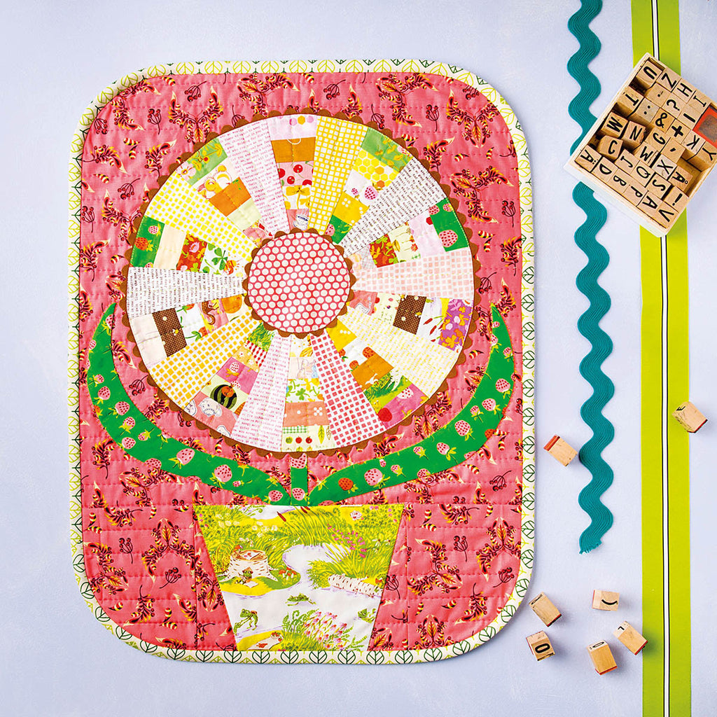 Flower Quilt from Cute Little Quilts