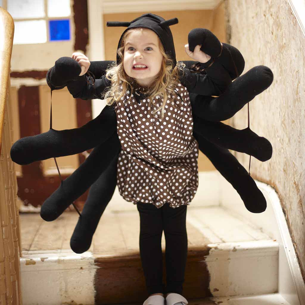 sewing dress up spider costume