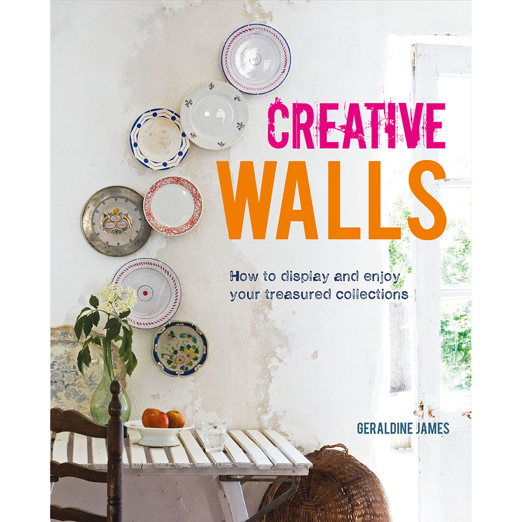 Creative Walls - How to display and enjoy your treasured collections