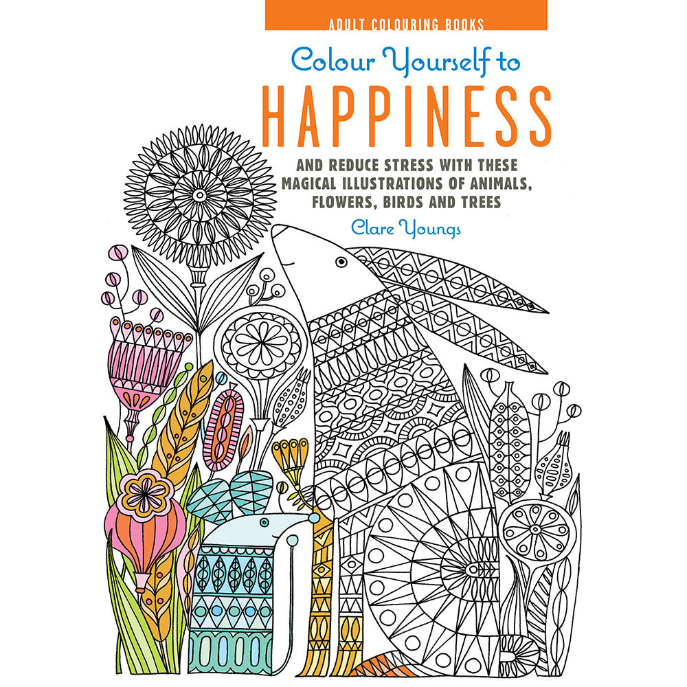 Colour Yourself to Happiness by Clare Youngs