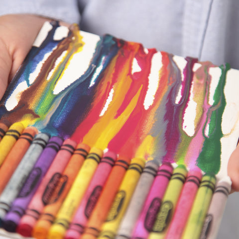 painted pencil holder