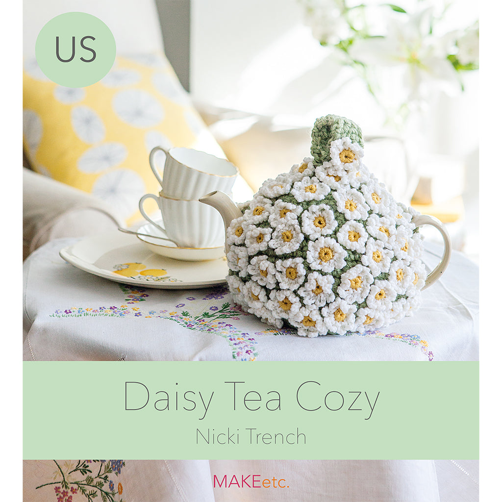 Daisy Tea Cozy Crochet DOWNLOAD PATTERN (US)
