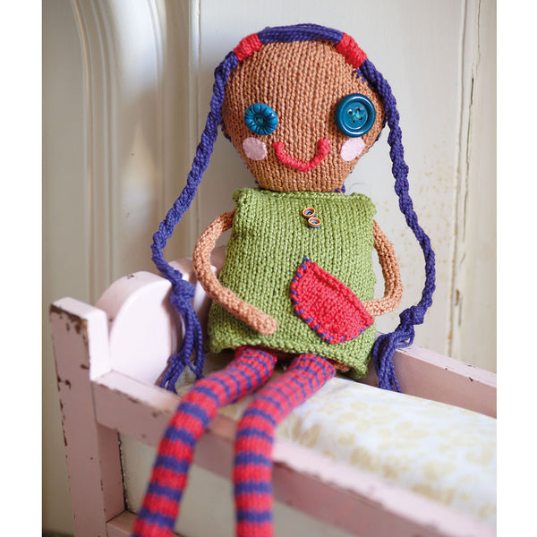 Knitting for children doll