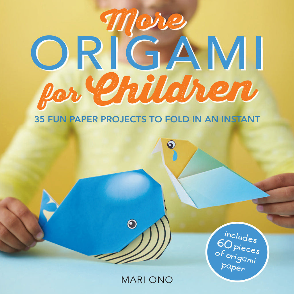more origami for children by mari ono