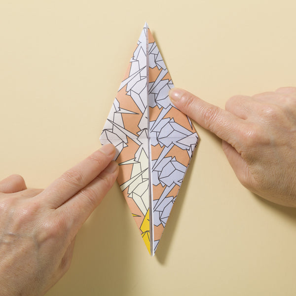 making patterned origami