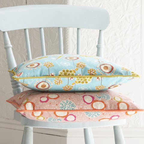 colourful patterned cushions