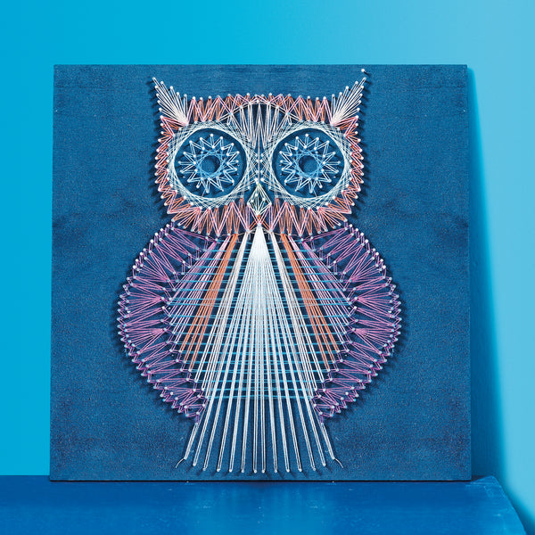 string crafted owl