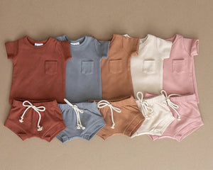 Cotton Pocket Tee | ROSE