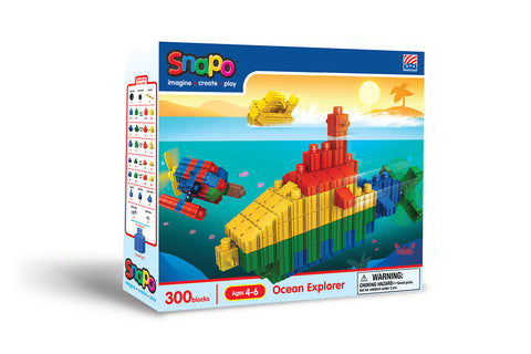 Ocean Explorer - Standard Blocks Box - 300 Pieces