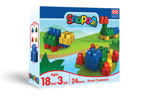 Island Holiday - Jr Big Blocks Canister - 35 Pieces