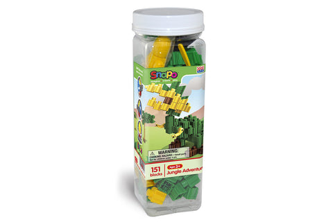 Jungle Adventure - Standard Blocks Canister - 151 Pieces