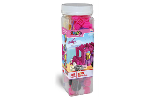 Snapo Classroom Set Standard Blocks - 550 Pieces - Bag