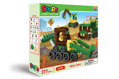 Work Zone - Standard Blocks Box - 277 Pieces