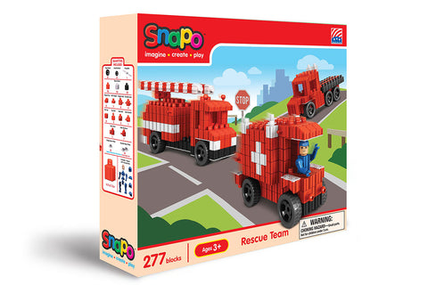 Rescue Team - Standard Blocks Box - 277 Pieces