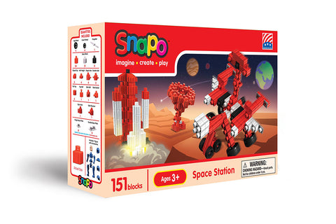 Space Station - Standard Blocks Box - 151 Pieces