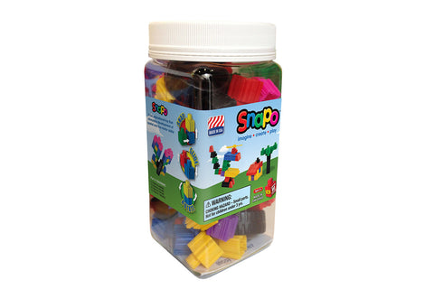 Snapo Starter Set - Standard Blocks - 80 Pieces