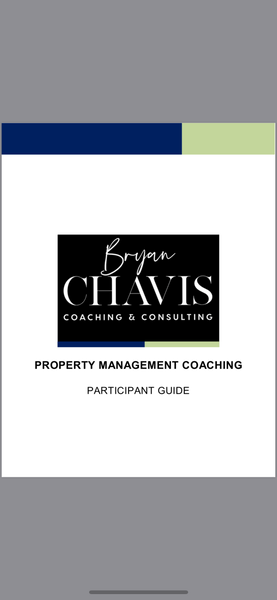 🏆 Bryan's Elite Property Management  GROUP Coaching
