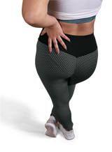 High Waisted Stylized Buttlifter Anti-Cellulite Legging