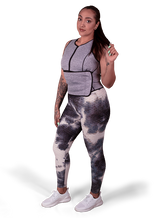 Sweat Vest, Sweat Cream, and Booty Resistance Band Bundle - Blue Hard