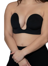 The Perfect Sculpt Strapless Push Up Plunge Front Bra