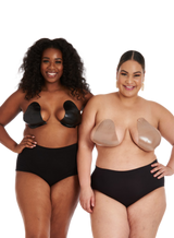 Bra Shape Tape - Black & Beige Bundle Of 4