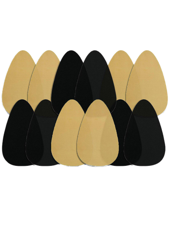 Bra Shape Tape - Black & Beige Bundle Of 6