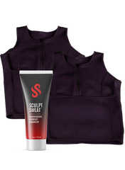 2 Sweat Vests + Sweat Cream Bundle