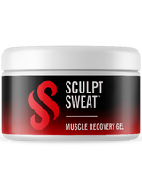 Mens Sweat Belt + Muscle Recovery Gel Bundle