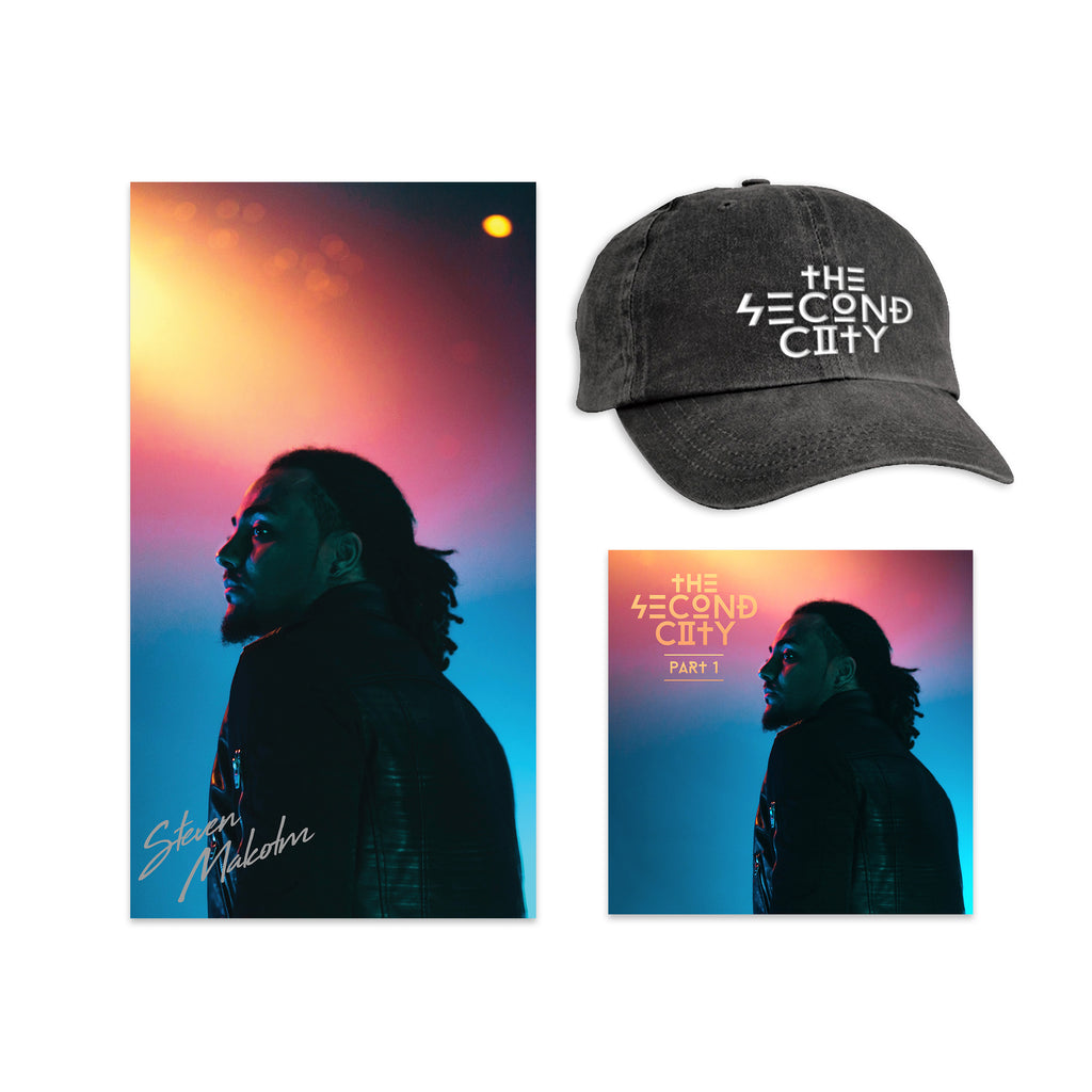 Second City Digital EP + Signed Poster + Dad Hat