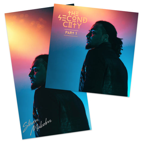 Second City Digital EP + Signed Poster