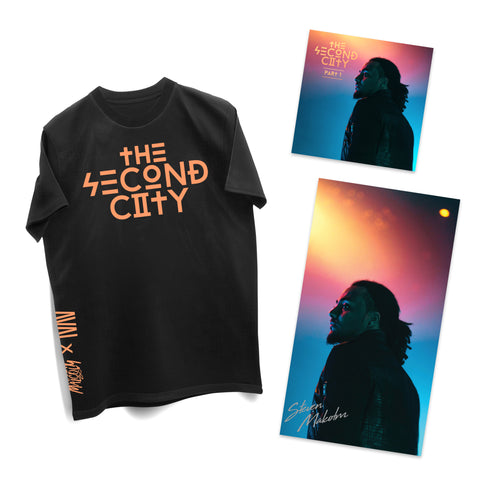 Second City Digital EP + Signed Poster + Tee