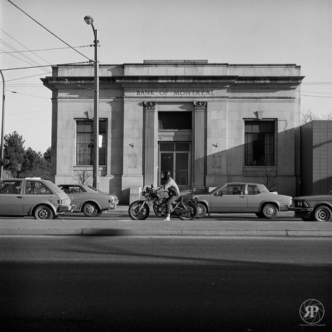Bank of Montreal Building, Main and Prior, Vancouver, 1984 (Unlimited)