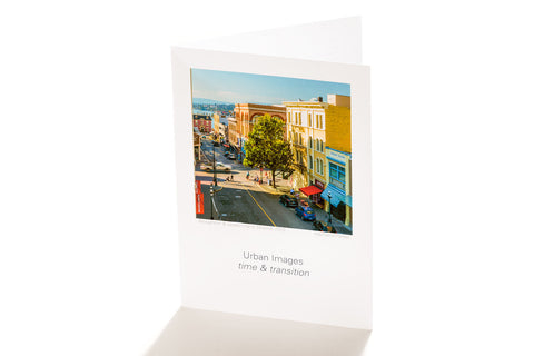 Broughton & Government, Victoria, BC (Greeting Card)