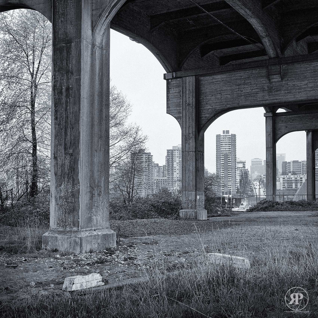 Under Burrard Bridge, 1985 (Limited Edition Print)