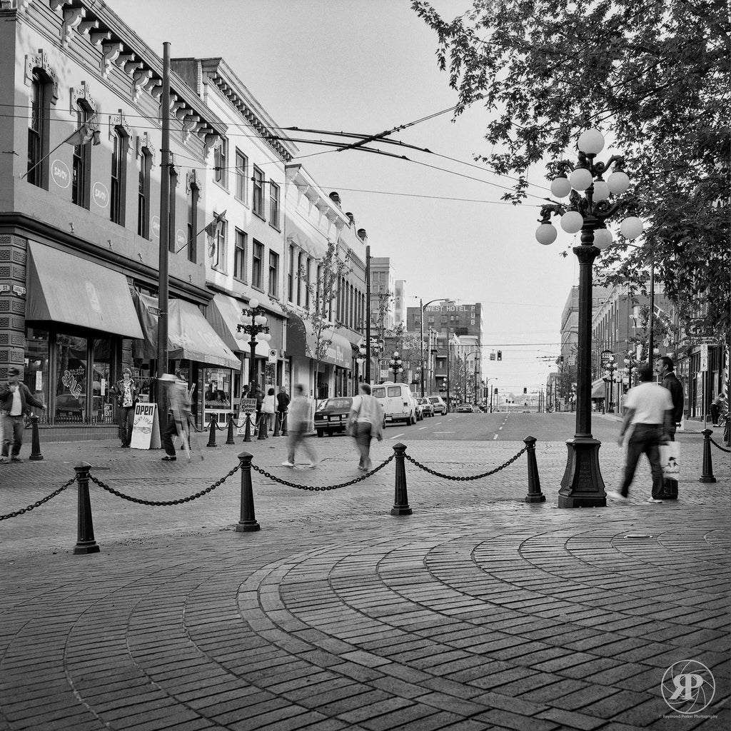 Carall & Powell, Gastown, Vancouver, 1986 (Limited Edition Print)
