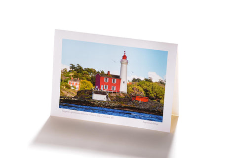 Fisgard Lighthouse National Historic Site, Collwood, BC (Greeting Card)