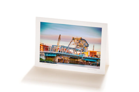 Johnson Street Bridge, Victoria, BC (Greeting Card)