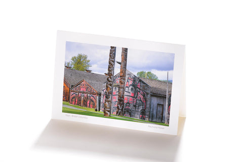 'Ksan, British Columbia (Greeting Card)