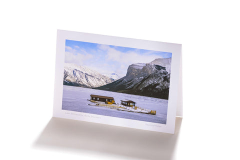 Lake Minnewanka, Rocky Mountains (Greeting Card)