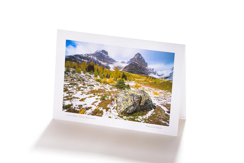 Larch Valley, Rocky Mountains (Greeting Card)