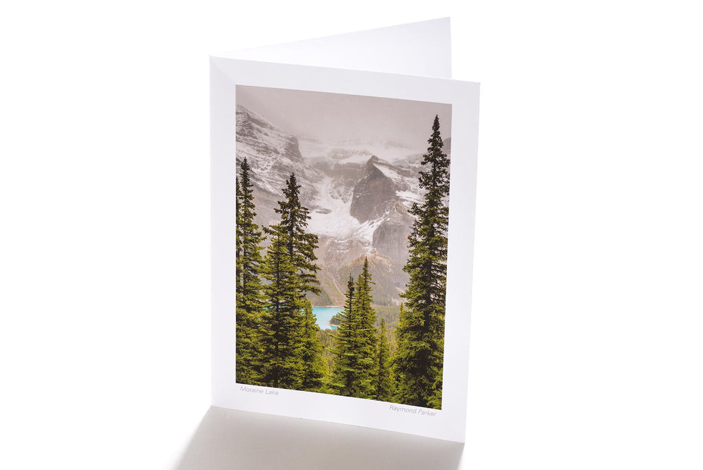 Moraine Lake (Greeting Card)