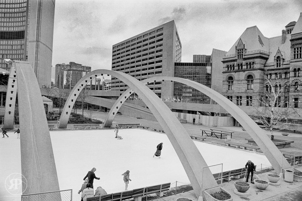 Nathan Phillips Square, Toronto, 1988 (Limited Edition Print)