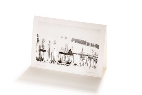 Okanagan Winter (Greeting Card)