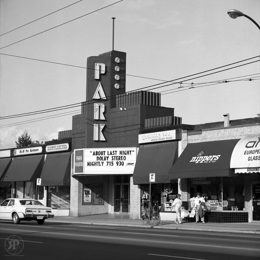 Park Theatre, Vancouver, 1984 (Limited Edition Print)