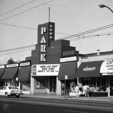 Park Theatre, Vancouver, 1984 (Unlimited Print)