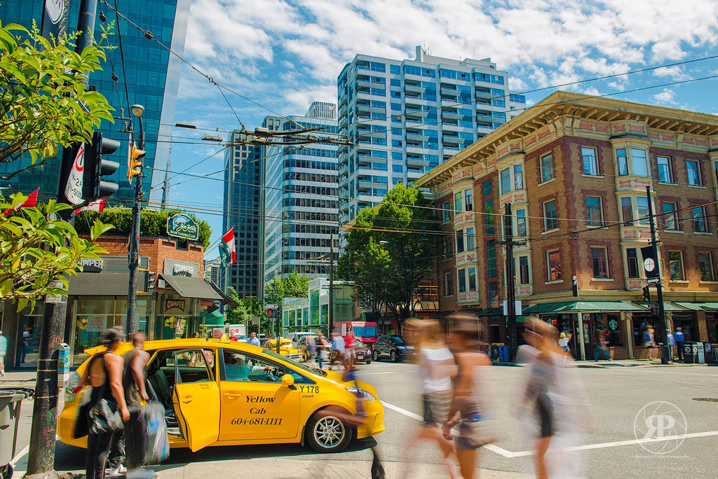 Robson & Thurlow, Vancouver, 2015 (Limited Edition Print)