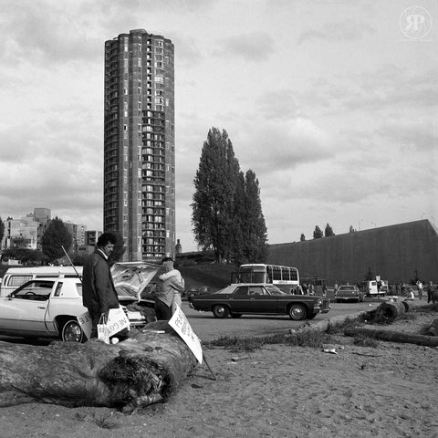 Sunset Beach (March End), Vancouver, 1983 (Unlimited Print)