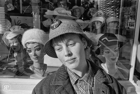 Hat Shop, Queen St. W., Toronto, 1987 (Limited Edition Print)