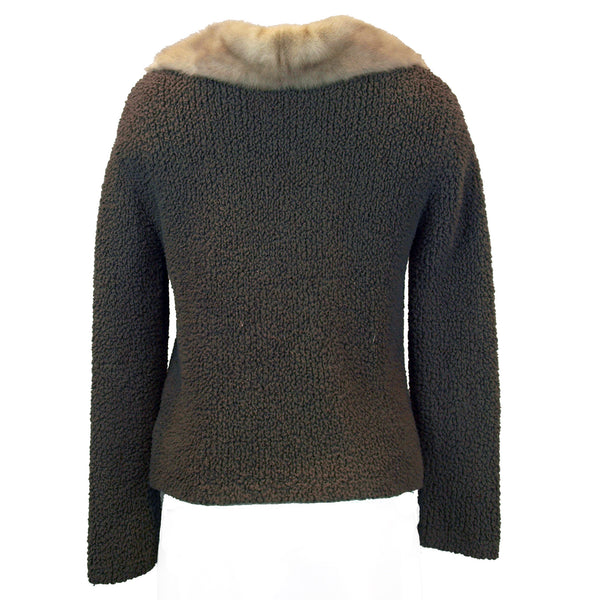 Mink Collar Sweater