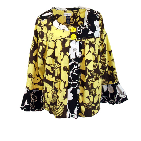 No Shrinking Violet Floral Fantasy Jacket